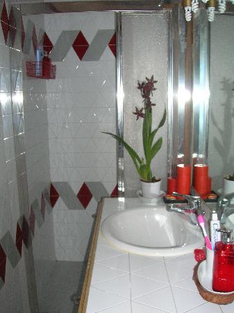 B&B Tre Gigli Firenze: Il bagno