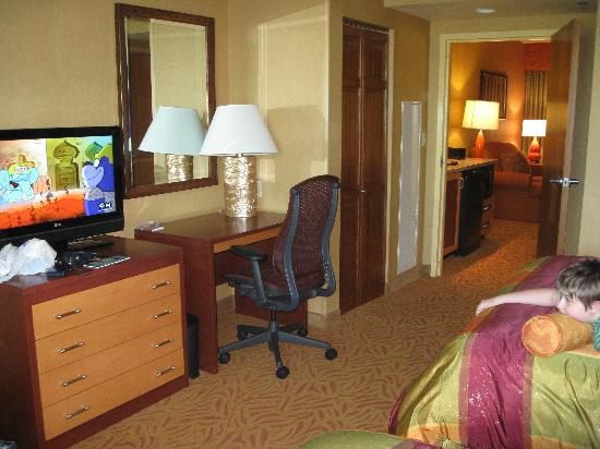 Embassy Suites by Hilton Omaha-La Vista/Hotel & Conference Center: Our room