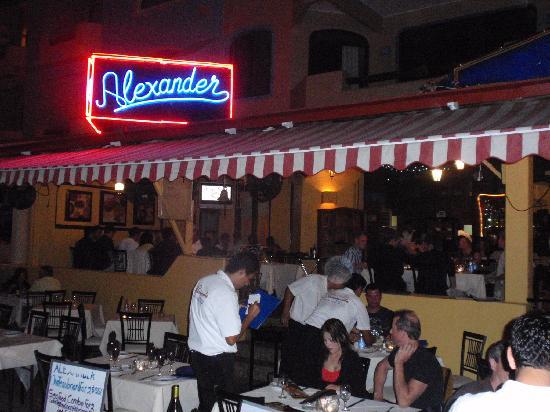 Alexander Restaurant Los Cabos: Alexander's on the marina