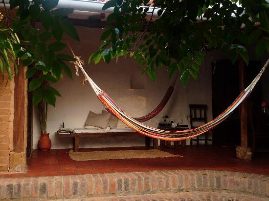 El Carambolo: Hammocks for relaxing