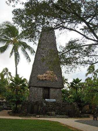 Polynesian Cultural Center: FIjian Temple - 3rd one in the world, only one outside Fiji