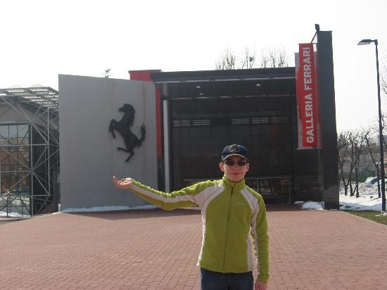 Museo Ferrari: Entrance