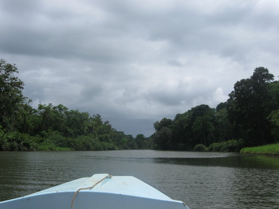 Changuinola, Panamá: Boat ride on the SanSan river