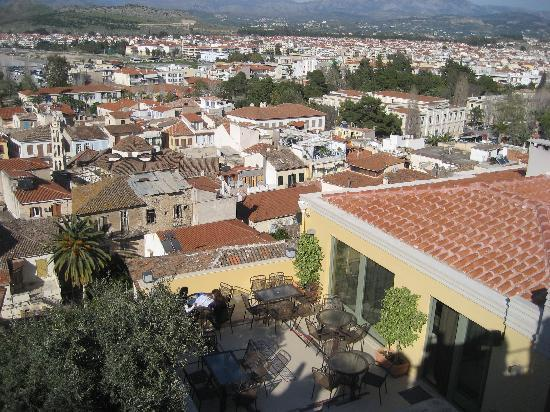 Amfitriti Palazzo Design Hotel : View of the hotel patio