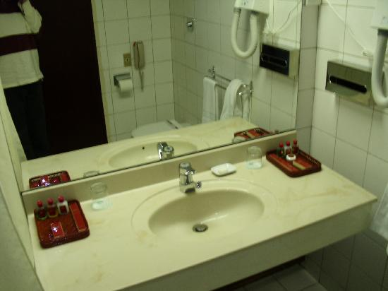 Bathroom Setup Picture Of Yanggakdo Hotel Pyongyang TripAdvisor - Bathroom sink set up