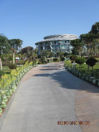 Calista Luxury Resort: main building