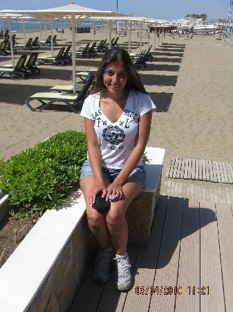Calista Luxury Resort: the beach