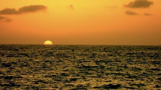 Las Palmas by the Sea: First sunset