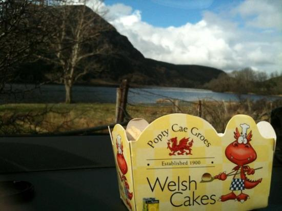 Snowdonia nasjonalpark, UK: Welsh cakes and sunshine - bliss