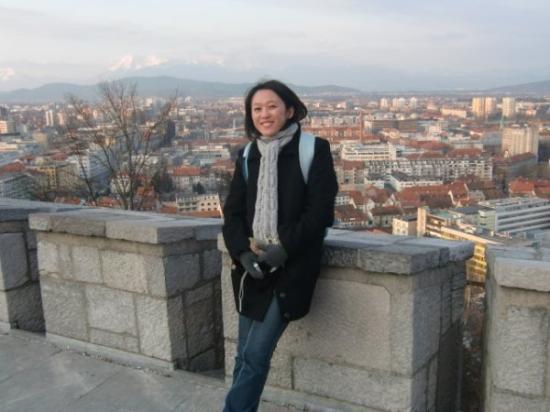 Ljubljana Slott: Lujbljana Grad.