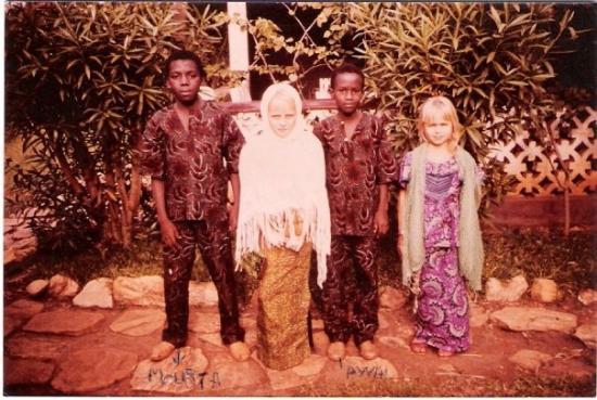 Sokode, Togo: Samadou, Astrid, Awali, Iris
