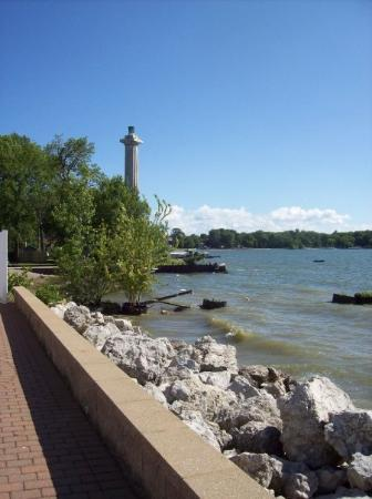 Put in Bay, OH: Perry's Monument from the Bayshore Resort
