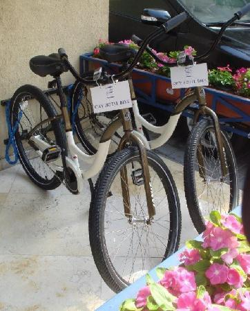 Hotel Prima City, Tel Aviv: free bicycle - for our guests