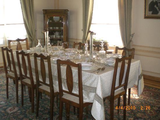Ataturk Museum: Dining Room