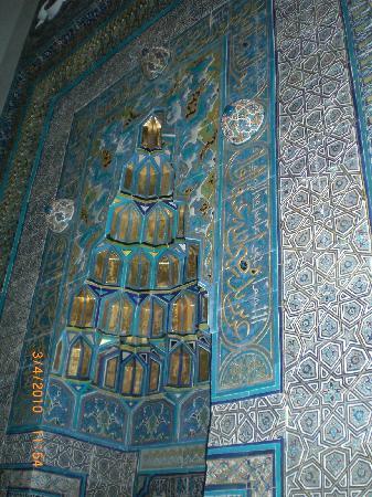 Green Tomb : The unique altar