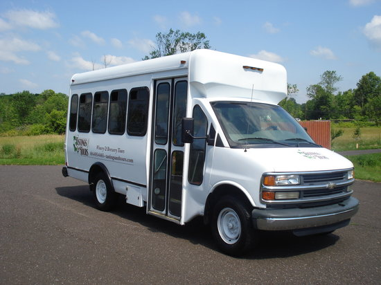 Tastings and Tours: Bucks County: One of our buses