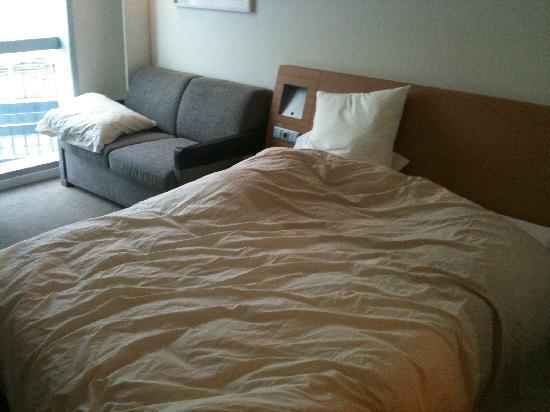 Novotel Barcelona City: room