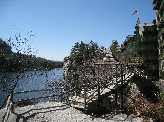 Mohonk Mountain House: View from the hotel