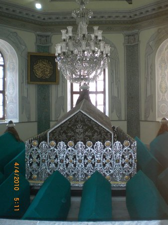 Bursa, Turkey: Tomb of Osman Gazi from Inside
