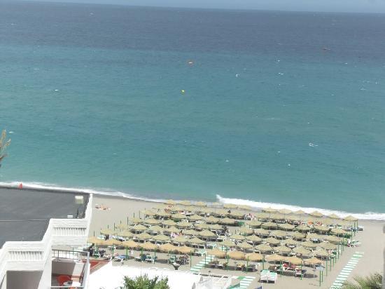 Bajondillo Apartments: View from the balcony
