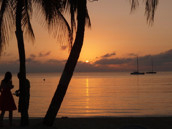 Sandals Negril Beach Resort & Spa: Sunset from our room