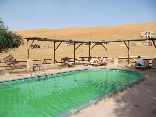 1000 Nights Camp: Swimming pool