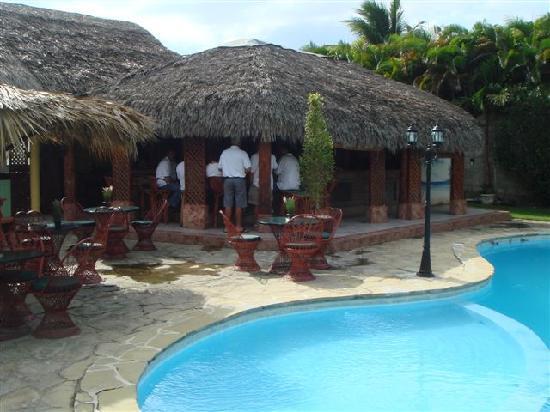 Hotel Voramar Sosua: Pool bar