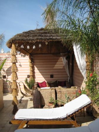 Riad Aguaviva: la terrazza