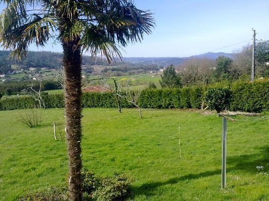 Casa da Botica de Loimil: El jardín