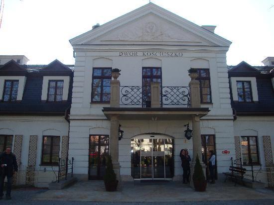 Hotel Kosciuszko: l'esterno