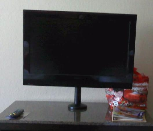 Hilton Garden Inn Chattanooga Downtown: Kids loved the flat screen TV