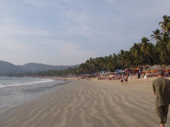 Panjim, India: Palolem, uma das dez praias mais bonitas do mundo segundo eles. Eu por mim confirmo...:)