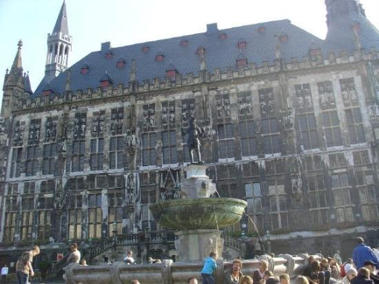 Aachen, Tyskland: Rathaus (townhall)