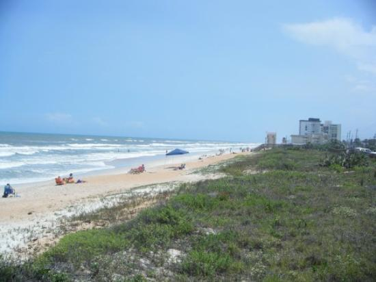 Ormond Beach, FL: daytona beach one day before the major storm that hit