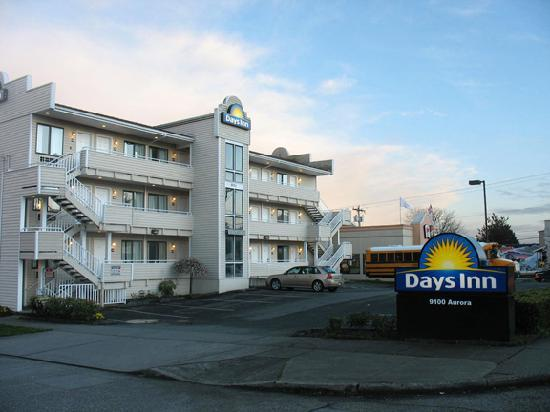 ‪‪Days Inn Seattle North of Downtown‬: our building‬