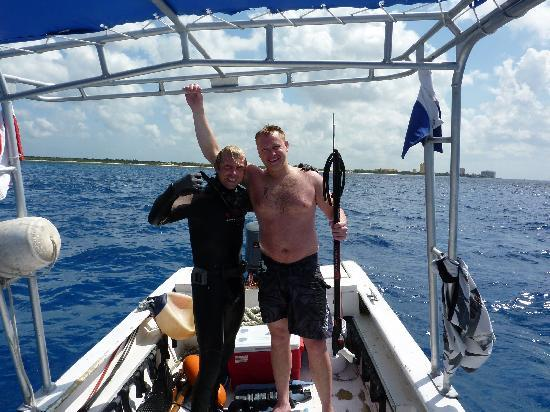 Spearfishing Today Cozumel: Leo & Kyle
