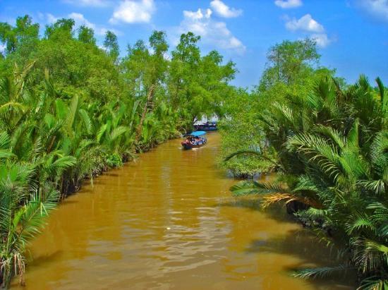 Phan Thiet, فيتنام: р. Меконг