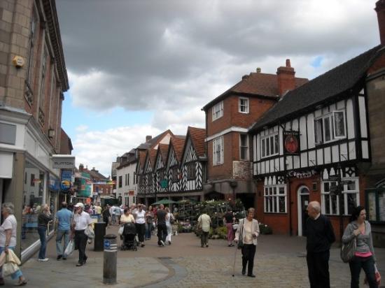 Downtown Lichfield Picture Of Lichfield Staffordshire