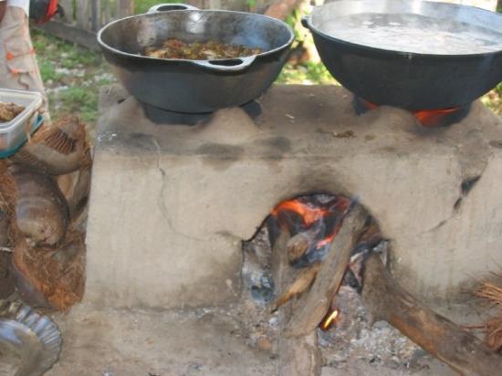 Skeldon, Guyana: Guyana energy saver efficiency stove