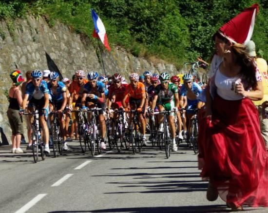 L'Alpe-d'Huez, France Tour de France
