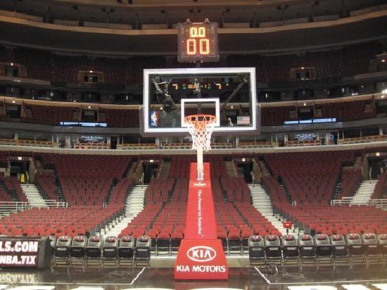 Exterior: UC Floor Before Bulls Game