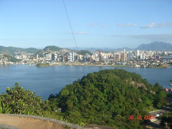 Vila Velha, ES: Vista do Convento da Penha