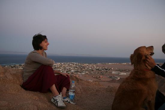Hike Dahab: Moonrise over Dahab