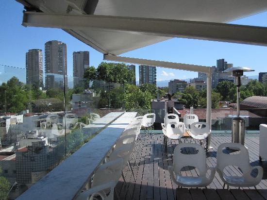 Hotel Habita: Rooftop bar