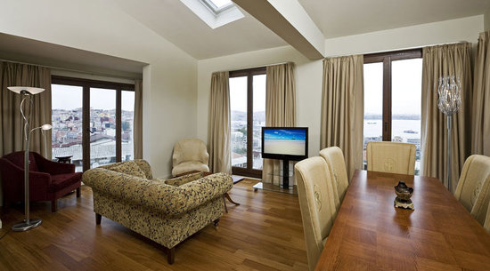Galateia Residence: Superior Bosphorus Apartment - Living Room