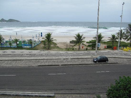 Hotel Praia Linda: View from sea-view room