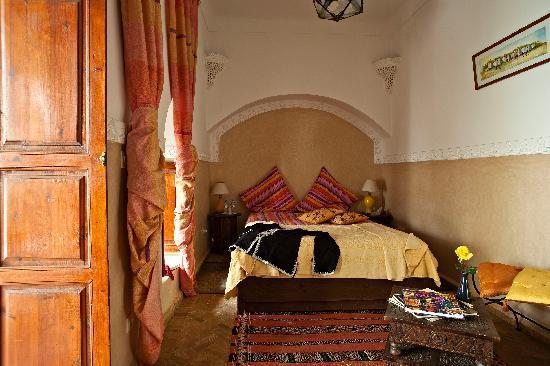 Riad Zen House : Chambre Jaune