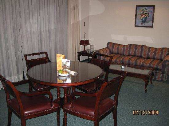 Toborochi Suites : Living de la habitacion