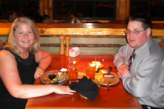 The Park Grill: Seated at dinner