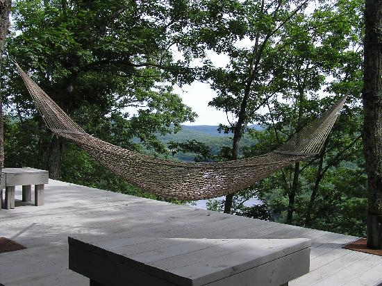 Ecce Bed and Breakfast: Relax at our scenic overlook
